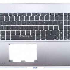 Palmrest carcasa superioara cu tastatura Laptop Asus Y582 UK culoare gri