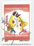 România, LP 1628/2004, Ziua Îndrăgostițiolor (Valentine's Day), oblit., Stampilat