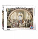 Cumpara ieftin Puzzle Eurographics - Raphael: Die Schule von Athen, 1000 piese