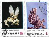 Flori de mina, 1985 - 50 B, 1 L, obliterate, Minerale, Stampilat