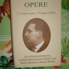 Calinescu - Opere Cartea nuntii . Enigma Otiliei / academia romana