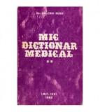 Mic dictionar medical vol. II