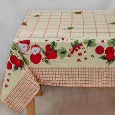 Fata de masa pentru 4 persoane, Pears, bumbac 100%, 150x150cm, multicolor
