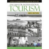 English for International Tourism Upper Intermediate New Edition Workbook with Key and Audio CD Pack - Anna Cowper