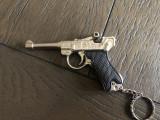 Pistol miniatural Luger Parabelum,metalic