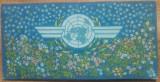 Proiect ONU// tempera pe carton, Teodora Moisescu Stendl, Marine, Acuarela, Altul