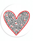KEITH HARING: CROSS MY HEART, Accesoriu de telefon original PopSockets®