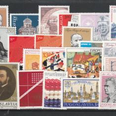 Lot timbre ,unicate serii complecte,Iugoslavia.