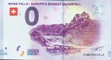 !!! 0 EURO SOUVENIR - ELVETIA , CASCADA  RINULUI  - 2018.1 - UNC