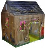 Cort de joaca pentru copii Casuta lui Heidi, Multicolor, Knorrtoys