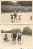 2 poze romanesti copii cu pusti de jucarie 1942 perioada monarhista