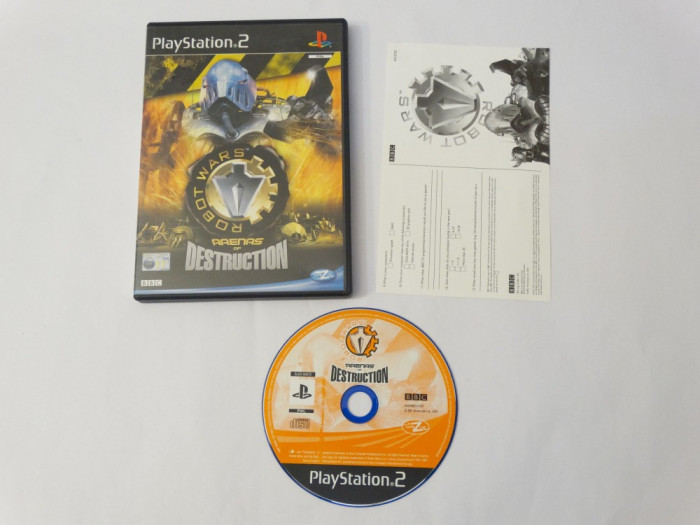 Joc Sony Playstation 2 PS2 - Robot Wars Arenas of Destruction
