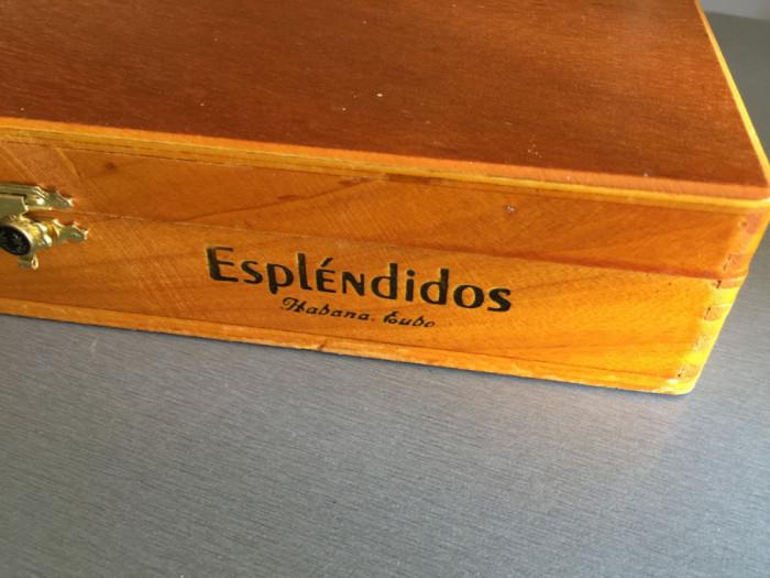 Cutie cu trabucuri Cohiba Esplendidos