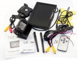 Cumpara ieftin Kit marsarier wireless cu camera si display de 7″ 12V~24V, K611W pentru Camioane, Autocare, Bus-uri