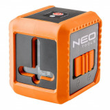 Cumpara ieftin Nivela laser, linie incrucisata, cu carcasa si suport magnetic, etui, 10 m, NEO