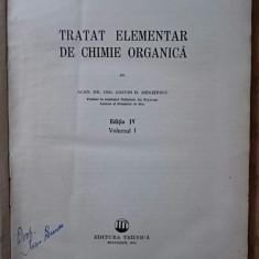 Tratat elementar de chimie organică, vol. I, C.D.Nenițescu