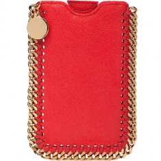 Husa Agenda Shaggy Rosu Apple Iphone 5/5S/SE