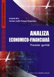 Cumpara ieftin Analiza economico-financiara. Teste grila