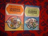 Legendele Olimpului 2 volume - Alexandru Mitru an1993,560pagini