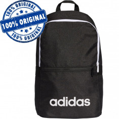 Rucsac Adidas Linear Classic - rucsac original - ghiozdan scoala, Negru, Marime universala