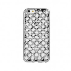 Husa Samsung J3 2016 Flower Diamond Silver