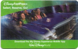 Pentru colectionari, card plastic intrare Disney World