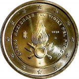 Italia 2 Euro 2020 (National Firefighters Corps) 25.75 mm, CLT7 , KM-New UNC !!!, Europa