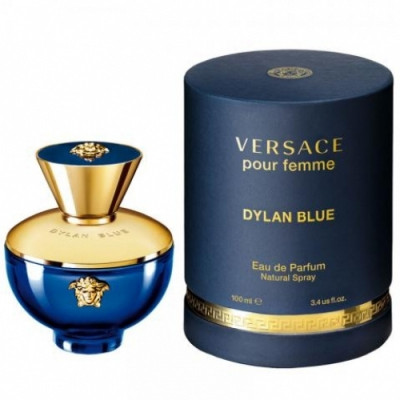 Apa de parfum Femei, Versace Dylan Blue, 50ml foto