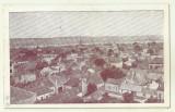 cp Turnu Severin : Vedere generala - circulata 1950, timbre