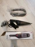 Cumpara ieftin Aspirator auto Black+Decker, alimentare 12V, accesorii incluse, Black + Decker