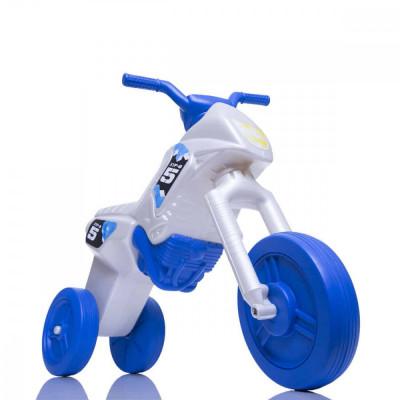 Tricicleta fara pedale Enduro - pearl-albastru foto