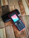 NOKIA 106 : Telefon Simplu cu Butoane - TIne incarcat MULT - Decodat orice retea, Negru, Neblocat