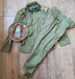 Uniforma militara Vara Sergent Vânători de munte perioada comunista Tinuta doc