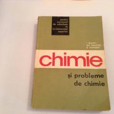 CHIMIE SI PROBLEME DE CHIMIE DE I.RISAVI/I.IONESCU --RF11/4