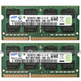 Kit Memorie Laptop DDR3 2 x 4 GB (8GB) 1600 Mhz PC3 12800S Garantie 6 luni