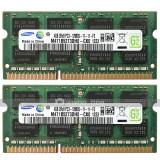 Kit Memorie Laptop DDR3 2 x 4 GB (8GB) 1600 Mhz PC3 12800S Garantie 6 luni