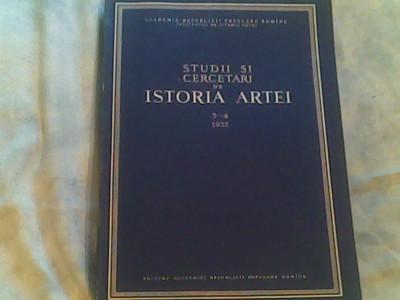 Studii si cercetari de istoria artei nr.3-4/1995 foto