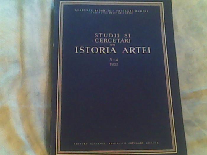 Studii si cercetari de istoria artei nr.3-4/1995