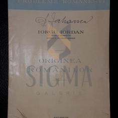 IORGU IORDAN - ORIGINEA ROMANILOR, 1945
