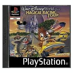 Walt Disney Magical Racing Tour -  PS1 [Second hand] fm
