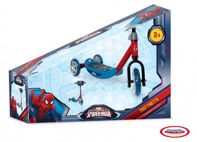 Spiderman - Trotineta Cu 3 Roti foto