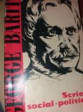 SCRIERI SOCIAL POLITICE GEORGE BARIT