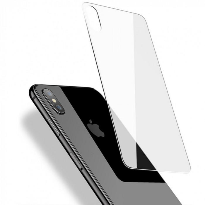 Folie protectie SPATE din sticla securizata Tempered Glass pt Apple iPhone X