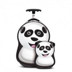 Set Troler si Ghiozdan Cheri the Panda
