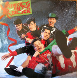 vinil colinde New Kids On The Block ‎– Merry, Merry Christmas,VG+/VG+,Craciun