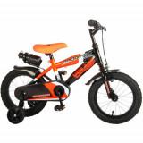 Cumpara ieftin Bicicleta Sportivo Portocaliu 14 inch cu Frane de Mana si Sticla Apa