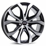 Jante MERCEDES M-KLASSE 8J x 18 Inch 5X112 et53 - Alutec W10 Racing-schwarz-frontpoliert - pret / buc