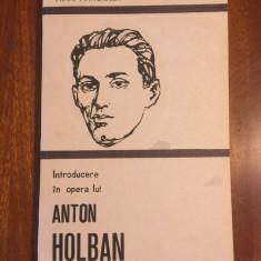 Mihai Mangiulea - Introducere in opera lui ANTON HOLBAN (1989 - Ca noua!)