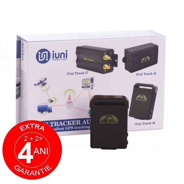 GPS Tracker Auto iUni Track i6, Localizare si urmarire GPS, cu magnet si carcasa rezistenta la apa