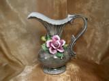 Vaza carafa Maiolica Bassano, colectie, cadou, vintage